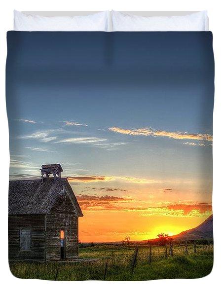 Almost Sunrise Duvet Cover