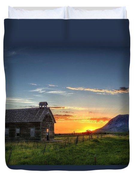 Almost Sunrise Duvet Cover