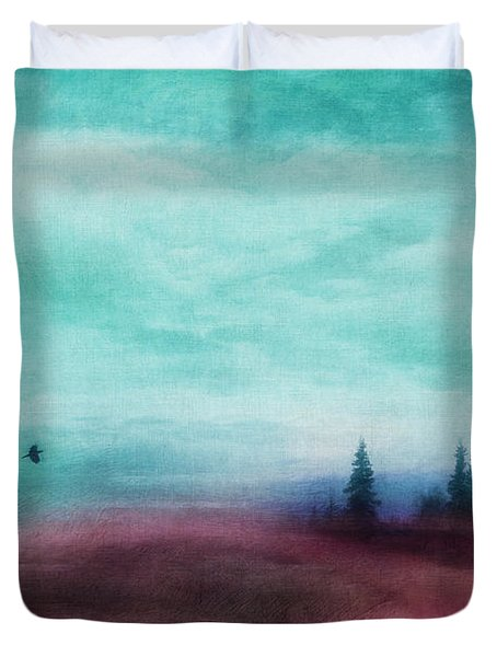 Almost There Duvet Cover