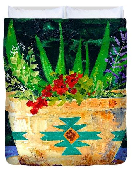 Aloe Vera And Friends  Duvet Cover
