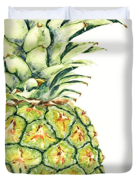 Aloha Again Duvet Cover by Marsha Elliott
