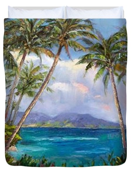 Aloha! Just Dreaming About #hawaii Duvet Cover