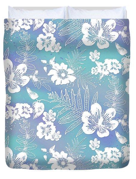 Aloha Lace Bahia Honda Duvet Cover