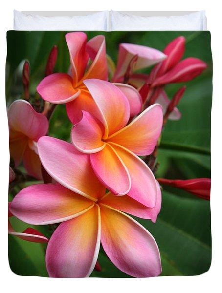 Aloha Lei Pua Melia Keanae Duvet Cover