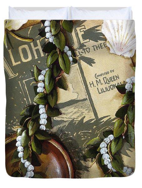 Aloha Oe Duvet Cover by Sandra Blazel - Printscapes