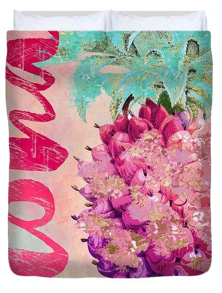 Aloha Pineapple Duvet Cover