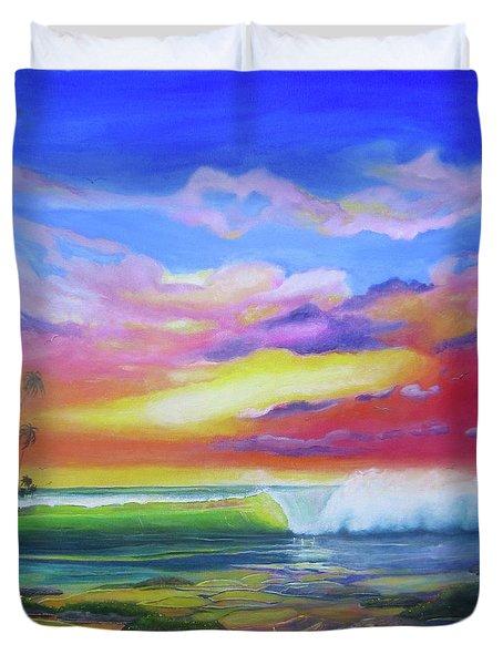 Aloha Reef Duvet Cover
