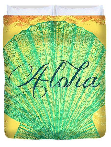 Aloha Shell Duvet Cover