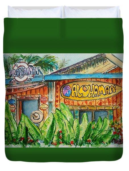 Alohaman Duvet Cover