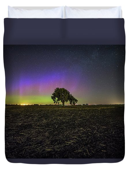 Alone Duvet Cover by Aaron J Groen