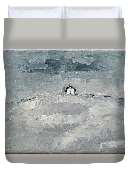 Alone Duvet Cover by Becky Kim