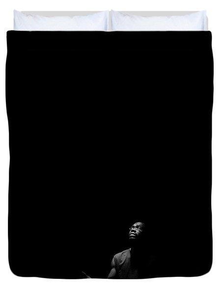 Alone? Duvet Cover