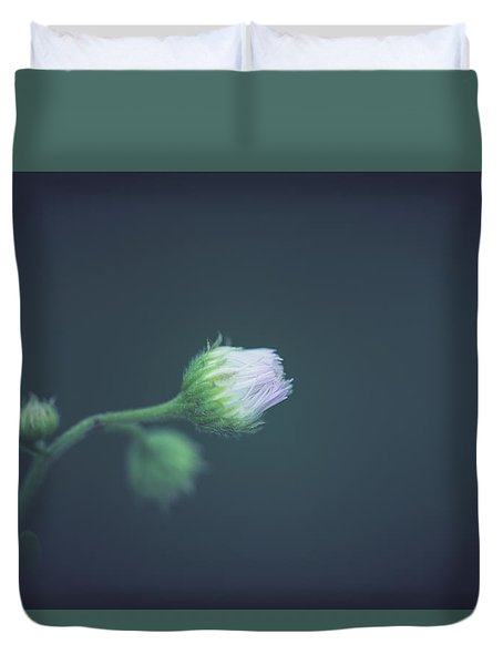 Duvet Cover featuring the photograph Alone In Dreams by Shane Holsclaw
