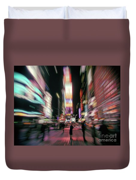 Alone In New York City 3 Duvet Cover