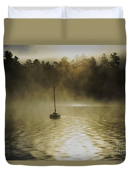 Alone Duvet Cover by Sherman Perry