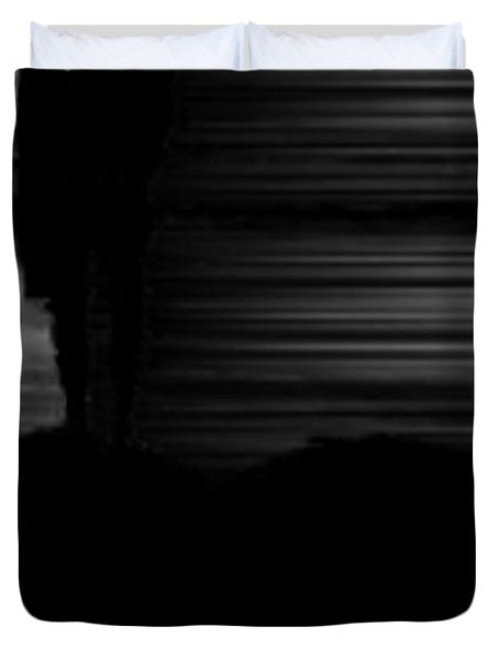 Alone Duvet Cover