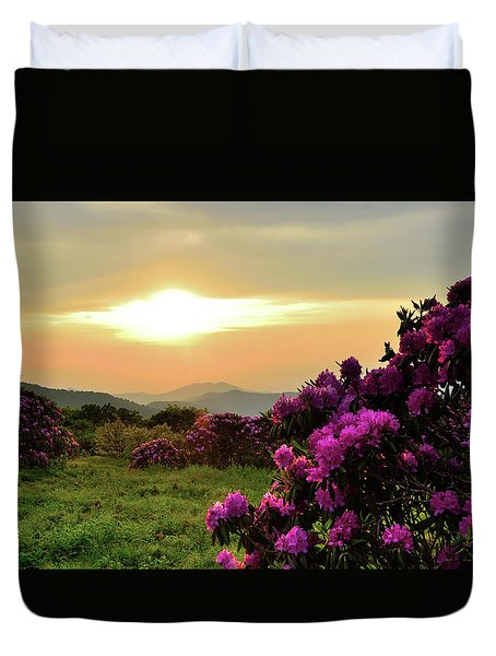 Along The Blue Ridge Duvet Cover