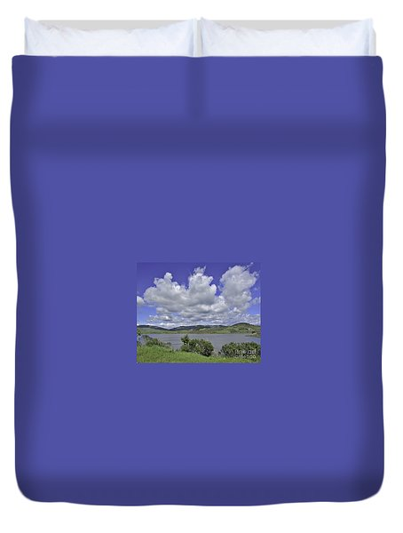 Along The Coast Highway Duvet Cover