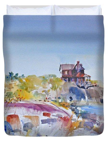 Along The Coast Duvet Cover