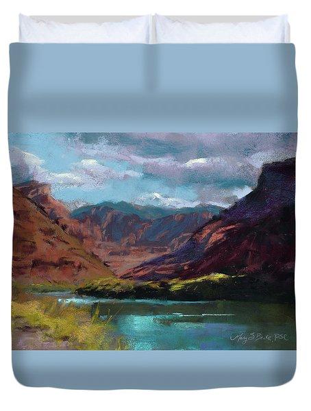 Along The Colorado Duvet Cover