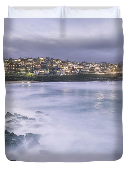 Along The Crystal Shore  Duvet Cover