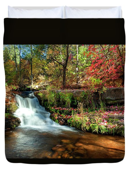 Along The Horton Trail Duvet Cover