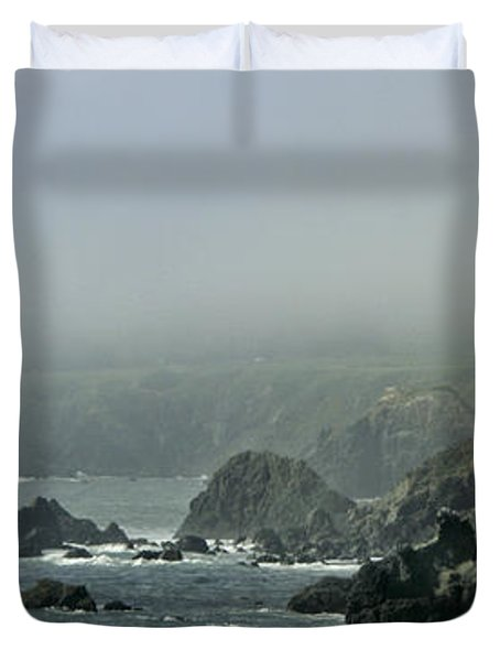 Along Route 1 Duvet Cover