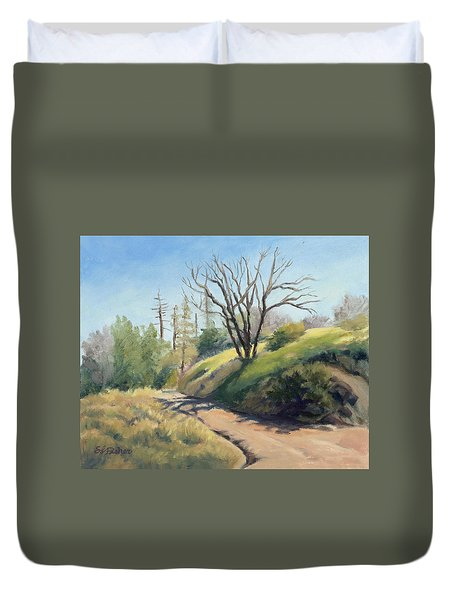 Along The Pacific Crest Trail Duvet Cover
