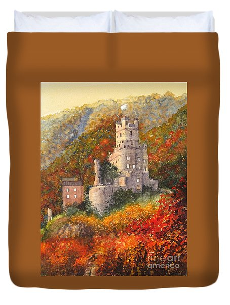 Along The Rhine I Duvet Cover
