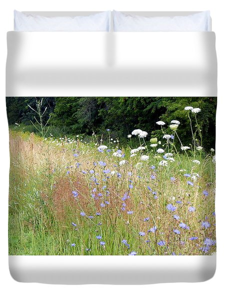 Along The Way Duvet Cover
