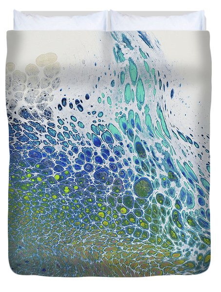 Along The Wish Filled Shore Duvet Cover