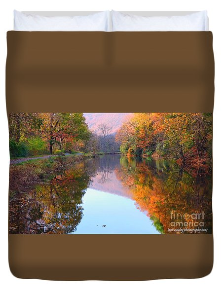 Along These Autumn Days Duvet Cover