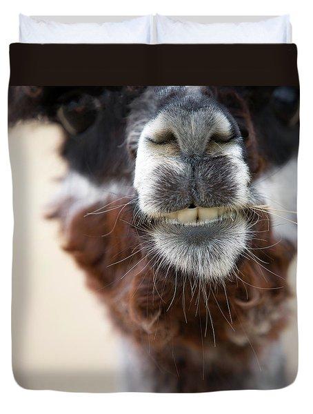 Alpaca #1 Duvet Cover