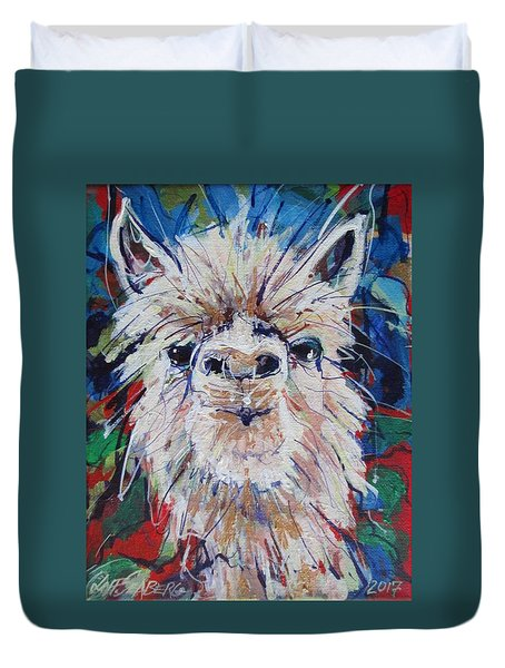 Alpaca Crazed Duvet Cover