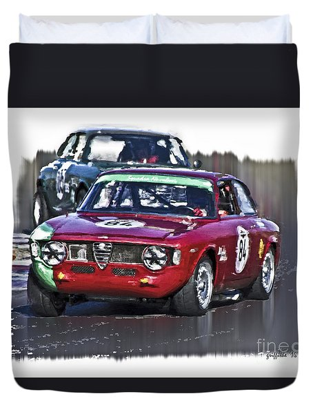 Alpha 84 Duvet Cover