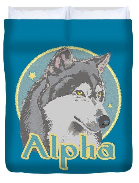 Alpha Duvet Cover