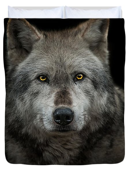 Alpha Male  Duvet Cover