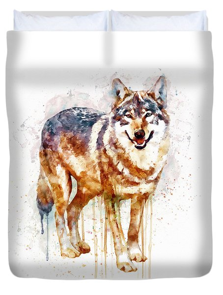 Alpha Wolf Duvet Cover
