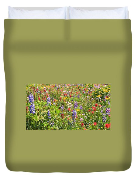 Alpine Glory Duvet Cover