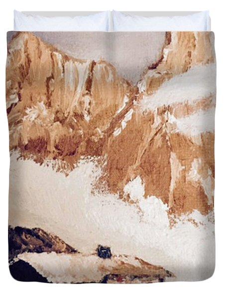 Alpine Home  Duvet Cover