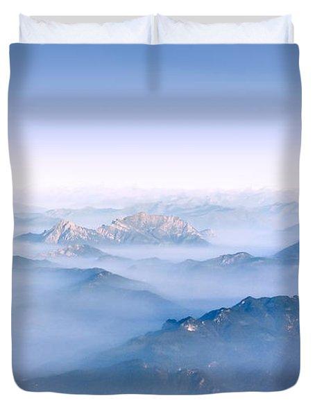 Alpine Islands Duvet Cover