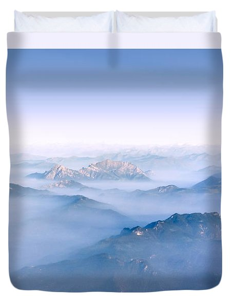 Alpine Islands Duvet Cover by Dmytro Korol