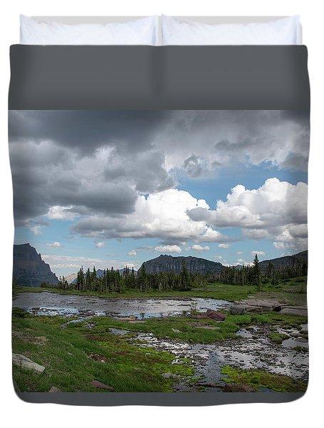 Alpine Oasis Duvet Cover