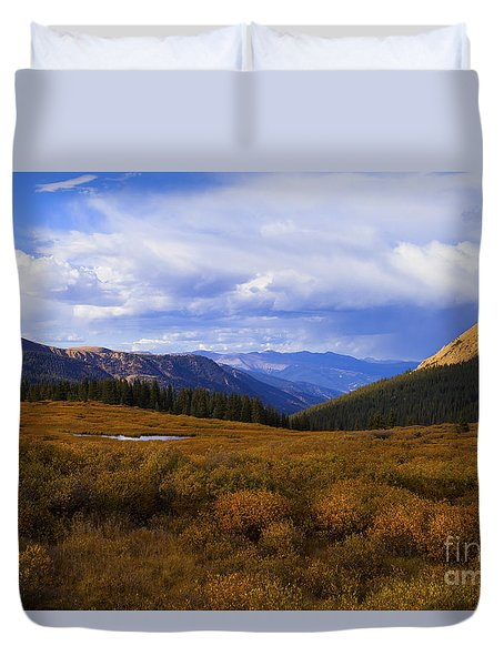 Alpine Pond Duvet Cover