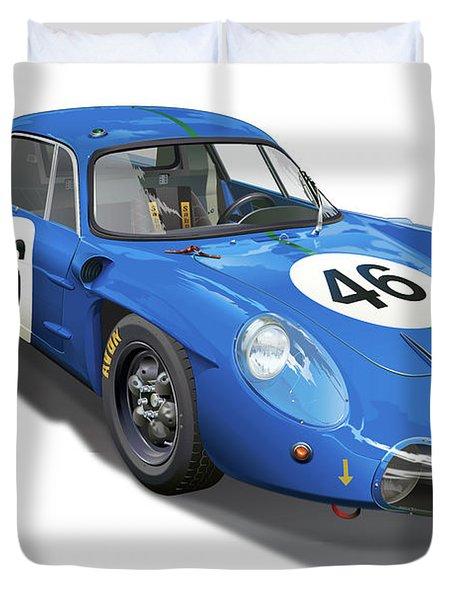 Alpine Renault A210 Duvet Cover by Alain Jamar