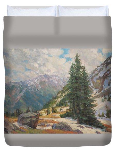 Alpine Spring  Duvet Cover
