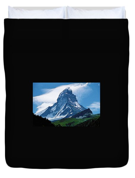 Alps Duvet Cover