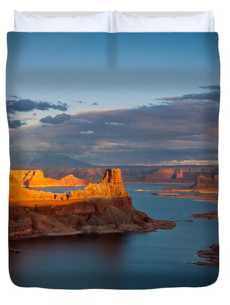 Alstrom Point Lake Powell Duvet Cover