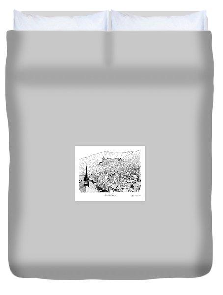 Alt Heidelberg Duvet Cover by Masatoki Miyagi
