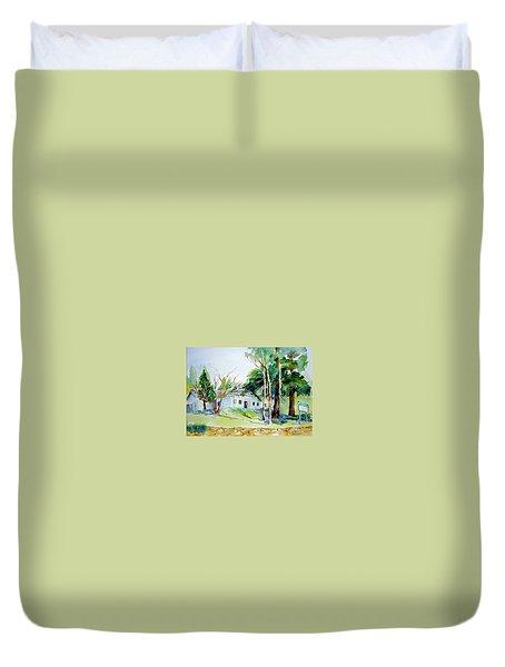 Alta/dutch Flat School Duvet Cover